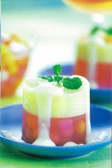 puding bubble jelly