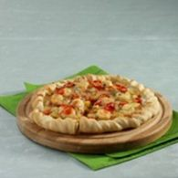 pizza udang rasa barbeque