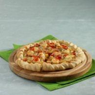 pizza udang rasa barbeque