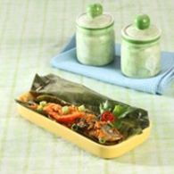 pepes ikan cue sambal spesial