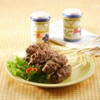 sate pentul daging kambing spesial