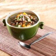 soup daging kombinasi kacang merah