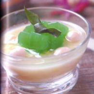 es eksotis nata de coco sirup santan