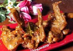 ayam cetar pedas